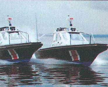 Singapore Coastguard patrol - 12M